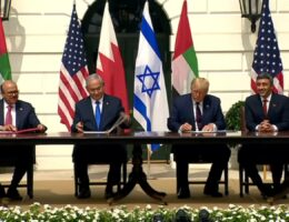 Trump: Israeli pacts with 2 Arab states signal 'dawn of a new Middle East'