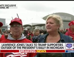 Trump rally attendees open up to Lawrence Jones about their support: 'He tells it like it is'