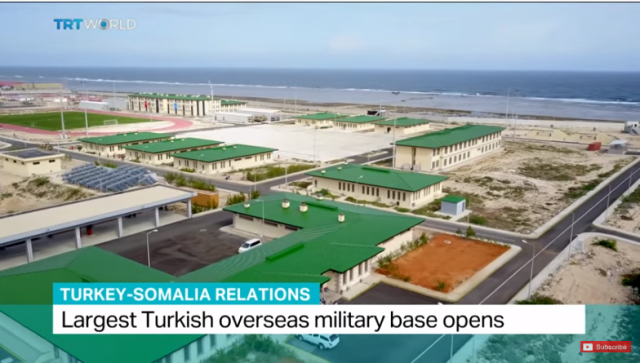 The Turkish base in Mogadishu claims to have trained 10,000 Somali soldiers.