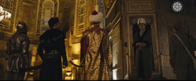 "Ottoman ""warriors"" enter the Hagia Sophia museum"