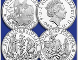 United States Mint and Royal Mint Collaborate on Mayflower...