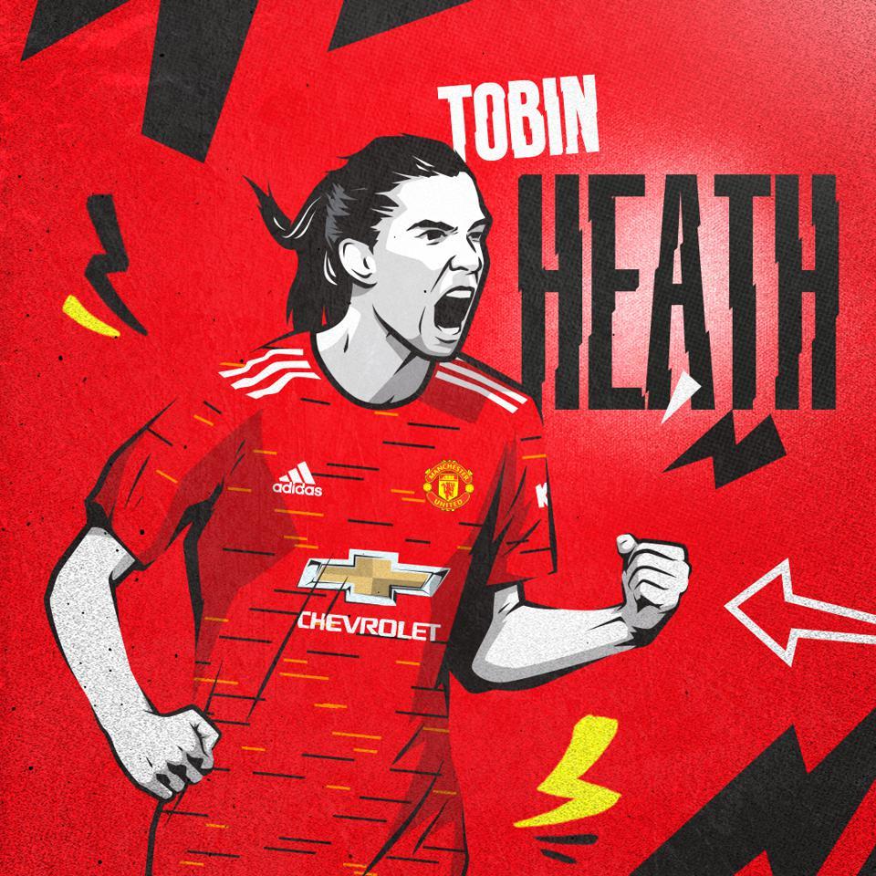 Graphic of Tobin Heath