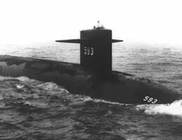 US Navy Releases Documents From 1963 USS Thresher Sinking
