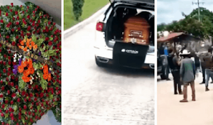 "Video: RCQ Sends Floral Wreath to Funeral of ""El Mono"" While his Body was Stolen in Sinaloa"