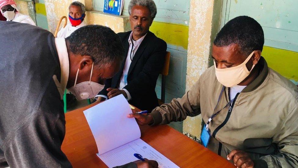 Election preparations