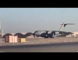 A US C-17 Globemaster Had An Emergency Landing At Kandahar Air Field In Afghanistan Last Week (Video)