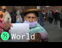 Bolivians Go To The Polls I The First Round Of Presidential Elections