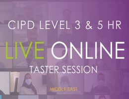 CIPD Middle East Qualification Live Online Taster Session