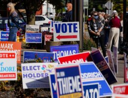 Democratic ballots more than double Republican ballots during early voting