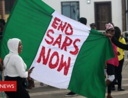 End Sars: How Nigeria's anti-police brutality protests went global