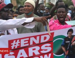 #EndSARS protests: Nigeria president commits to ending police brutality