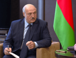 EU Foreign Ministers Agree To Impose Sanctions On Belarus' President Alexander Lukashenko