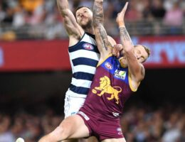 Geelong through to AFL grand final after convincing win over Brisbane