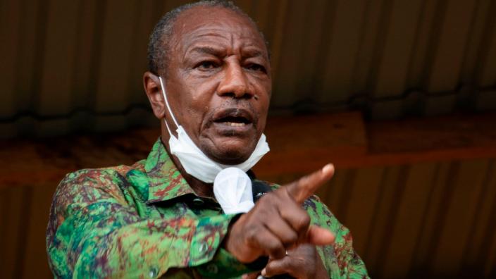 Guinea's President Alpha Condé