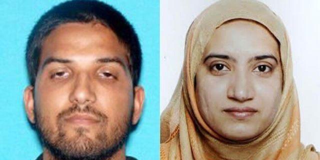 San Bernardino, Calif., terror assailantsSyed Rizwan Farook, left, and Tashfeen Malik. (Associated Press)