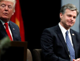 Is President Trump Thinking Of Firing FBI Director Wray?