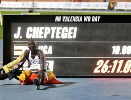 Joshua Cheptegei smashes 10,000m world record as Letesenbet Gidey sets new women's 5,000m best