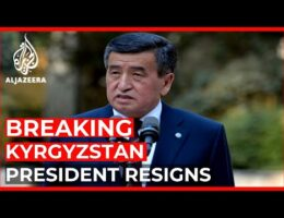 Kyrgyzstan President Resigns After Weeks Of Turmoil