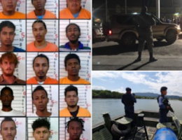 Mexican and Guatemalan officials on alert for 28 men who escaped from maximum security prison in Belize