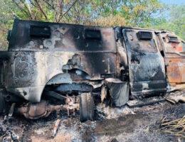 Michoacan: Hours long confrontation, blockades, fires