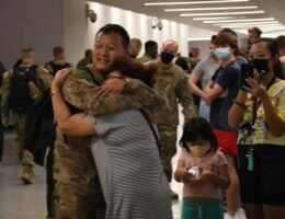Minnesota National Guard returns from Middle East to a changed America