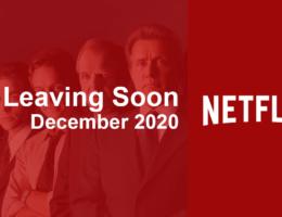 Movies & TV Series Leaving Netflix in December 2020