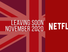 Movies & TV Series Leaving Netflix UK in November 2020