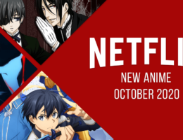 New Anime on Netflix in October 2020