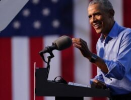 Obama slams Trump at Biden rally, warns voters 'we can't be complacent'