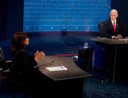 Pence-Harris meet for United States VP debate: Live news