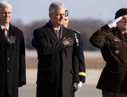 President Trump's Top General, National Security Adviser Clash On Afghanistan Troop Withdrawal