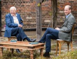 Prince William and Sir David Attenborough join forces on 'Earthshot' prize