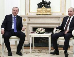 Putin talks with Erdoğan, expresses deep concerns over involvement of militants from Middle East