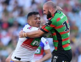 Rabbitohs tame fast-starting Knights to progress to NRL semi-finals
