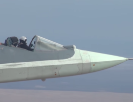 Russian Test Pilot Flies Su-57 Fighter Jet Without Its Canopy