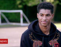 School meals: Marcus Rashford 'proud' of community response