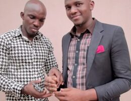 Sculptor in Nigeria creates black prosthetic hand for his brother