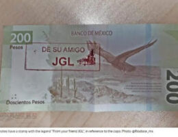 "Sinaloa: ""Chapo bills"" of 200 pesos circulate in Culiacán and are valid"