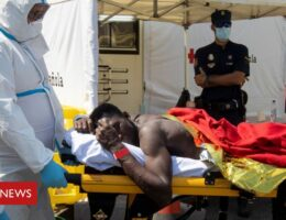 Spain's Canary Islands see new influx of African migrants