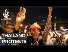 Thailand Protests Against The Government And Calls To Reform The Monarchy Continue For Fifth Day