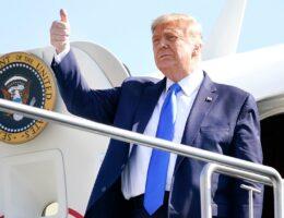 Trump traveling to Arizona as Harris stumps in Florida