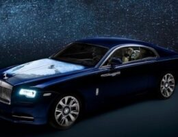 Unique Rolls-Royce Wraith Features a Middle East View From Space on the Hood