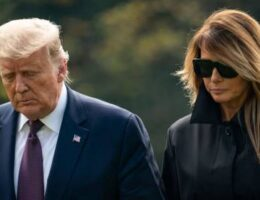 United States President, Trump, Wife Test Positive For Coronavirus