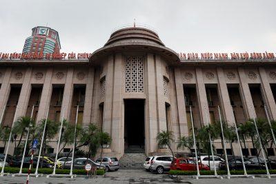 The State Bank of Vietnam building, Hanoi, Vietnam, 8 September 2017 (Photo: Reuters/Kham)