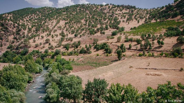 The Rawanduz River, Kurdistan, Iraq