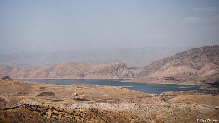 Lake Dukan, Kurdistan Region of Iraq