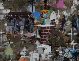 AP PHOTOS: In Mexico, a quieter Day of the Dead under COVID