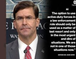 BREAKING: Anti-Trump Pro-Mob Defense Secretary Mark Esper FIRED! #DrainTheSwamp