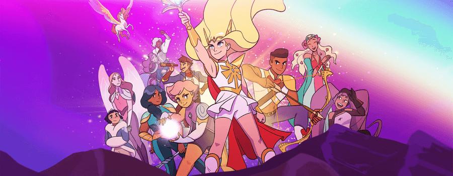 dreamworks she ra and the princesses of power netflix