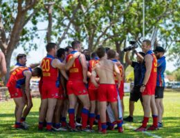 How — and why — do NT footballers play in 35C heat? The forecast today will be a test